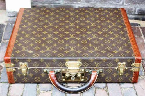 c0e496c3f201 Louis Vuitton briefcase - Pinth Vintage Luggage