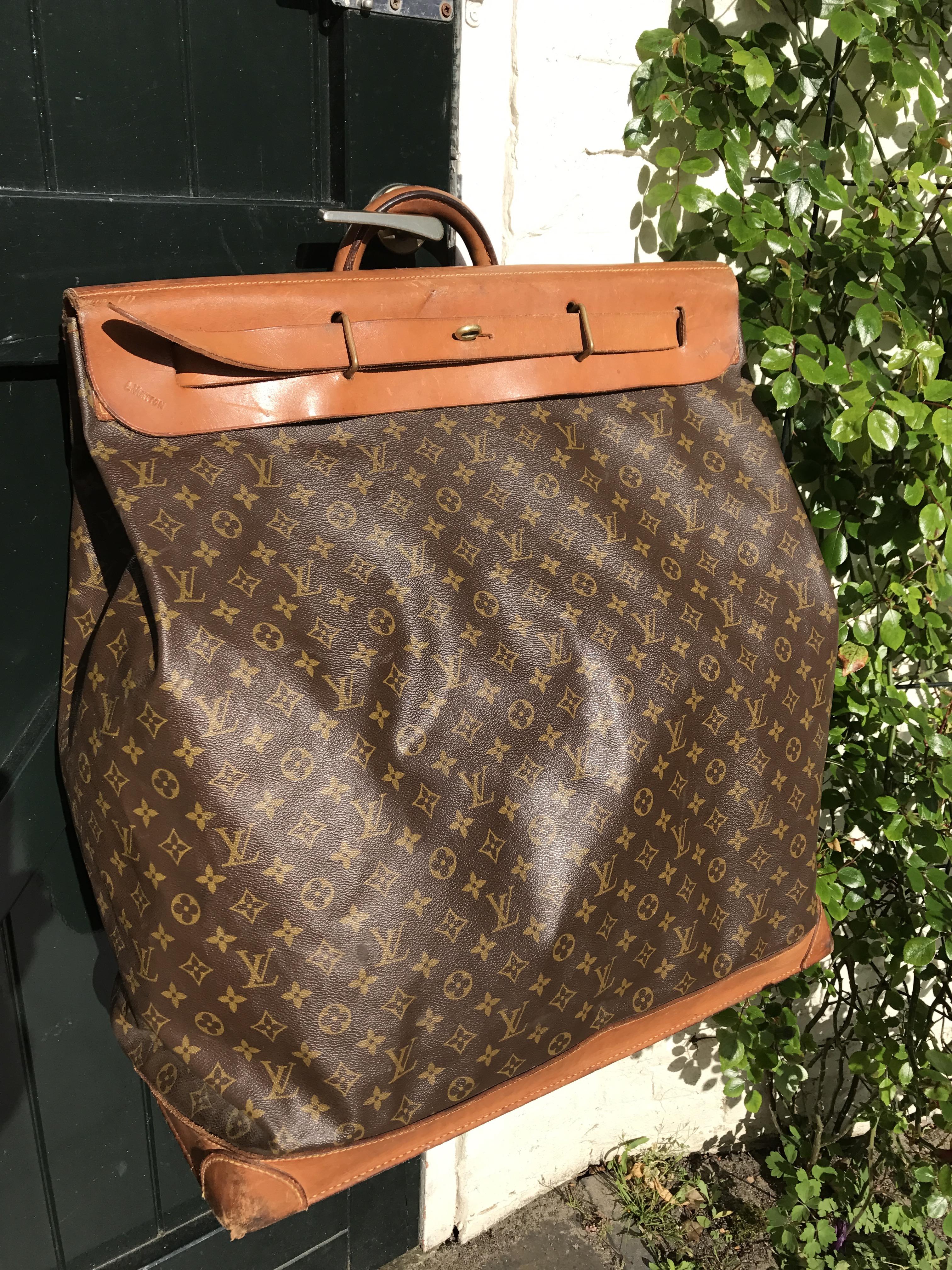 ce520f1c7efd Vintage Louis Vuitton steamer bag - Pinth Vintage Luggage
