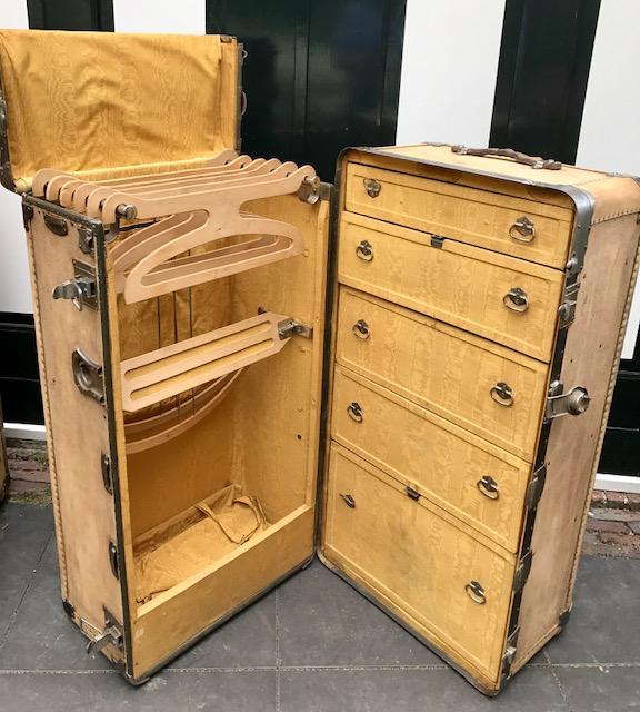 leather wardrobe trunks - Wardrobe Trunk