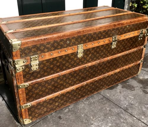 Lv Trunk Coffee Table: Antique Louis Vuitton Coffee Table Trunk