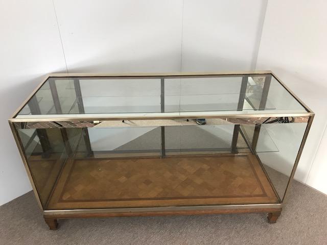 Vitrinekast Voor Op Toonbank.Antieke Toonbank Vitrine Glas Koper Pinth Vintage Luggage